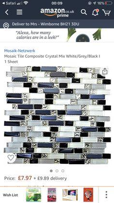 Mosaic Tiles, Bathrooms, Crystals, Mosaic Pieces, Bathroom, Bath Room, Crystal, Bath, Crystals Minerals