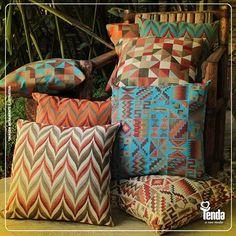A #Tenda oferece infinitas opções de itens decorativos pra você tornar aconchegante cada cantinho da sua casa. #Tenda, a sua moda.