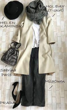 今年の通勤コート選び!1枚で2度楽しいコレ買いました | ファッション誌Marisol(マリソル) ONLINE 40代をもっとキレイに。女っぷり上々! Simple Style, My Style, Office Outfits, Japanese Fashion, Comfortable Outfits, Minimalist Fashion, Winter Outfits, Personal Style, Winter Fashion