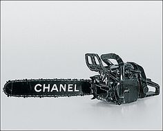 """See Tom Sachs' Chanel Chainsaw in """"Regarding Warhol: Sixty Artists, Fifty Years"""" from Sept 18 to Dec 31 at The Met! Saints Row, American Psycho, My Pool, Come Undone, Scream Queens, Art Moderne, Chanel Couture, Our Lady, Chainsaw"""