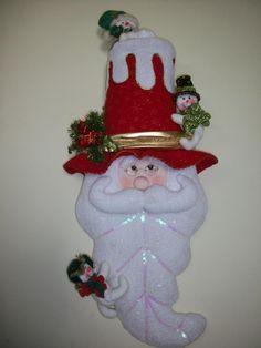 Carolina Mendoza Quiñones's media content and analytics Easy Christmas Crafts, Christmas Sewing, Christmas Items, Felt Christmas, Christmas Humor, Simple Christmas, Christmas Holidays, Christmas Ornaments, Christmas Jewelry