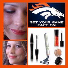 Broncos makeup...by #marykay
