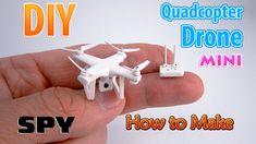 DIY Miniature Spy Drone Quadcopter | DollHouse | No Polymer Clay!