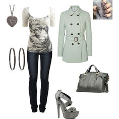 Untitled #147 by bj1228143 on Polyvore featuring polyvore fashion style Wet Seal Vero Moda Levi's Qupid JAY. M Repossi ADORNIA