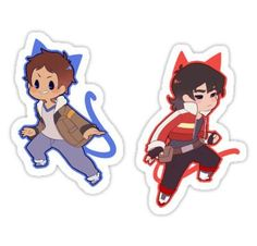 Voltron 1 Stickers