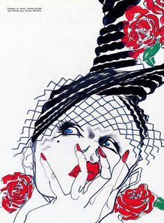 Jean Barthet 1984 Tony Viramontes, Hats