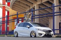 Honda Jazz, Honda Fit, Stance Nation, Car Photography, Car Cleaning, Dream Cars, Japan Cars, Vehicles, Fitness
