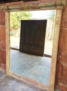 Mid 19th Century Doorway Mirror, Patan, Gujarat