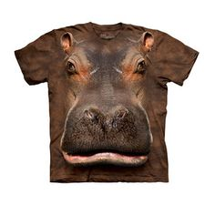 T-Shirt Nilpferd jetzt auf Fab.