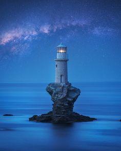 A photo journey in Greece Tourlitis Lighthouse, Andros, Aegean Sea, Greece Mykonos, Santorini, Issey Miyake, Vintage Louis Vuitton, Cyclades Greece, Andros Greece, Skopelos, Sarakiniko Beach, Bali
