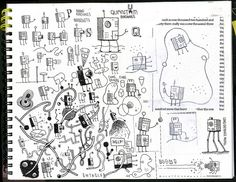 Sketchbook Page 32 by tom gauld, via Flickr