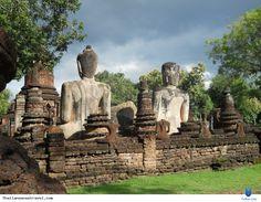 """Công viên lịch sử Kamphaeng Phet được mệnh danh là """"vùng đất của những nụ cười"""", Thái Lan chính là điểm đến hấp dẫn cho các du khách thích khám phá nền văn minh và di sản văn hóa lâu đời của người Thái. Xem thêm: http://thailansensetravel.com/cong-vien-lich-su-kamphaeng-phet-n.html"""