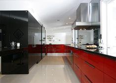 15 lindas cozinhas para quem adora vermelho - limaonagua