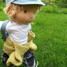 The little wanderer 😊#wanderer#waldorfinspired #boydoll #bemkadolls