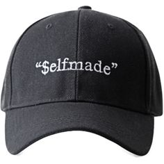 $elfmade Snapback ($6) ❤ liked on Polyvore featuring accessories, hats, snapback hats and snap back hats