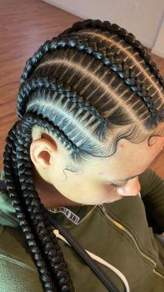 Stitch braids braided hair videos 37 braided hairstyles braided hair vector braided hairstyles for men braided with weave hairstyles 2 braid hairstyles braided hairstyles lines braided hairstyles with clip in extensions Braided Cornrow Hairstyles, Feed In Braids Hairstyles, Girl Hairstyles, Hairstyles Videos, 4 Braids Cornrows, Crown Braids, Hairstyles 2018, Natural Hair Braids, Braids For Black Hair