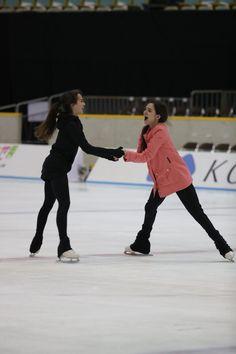 Alina Zagitova and Evgenia Medvedeva(Russia)