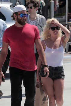 Lady GaGa and Bradley Cooper - Malibu, Sept. 4th 2016
