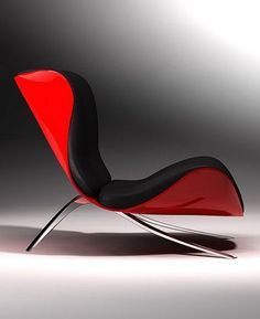 Claw Chair by Stephen Tierney, futuristic furniture