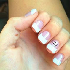 get his initials on your ring finger on the day you get married, I will so be doing this <3