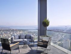 Le Méridien Istanbul Etiler—Presidential Suite Terrace with Bosphrous view | Flickr - Photo Sharing!