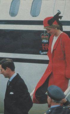 Diana in Paris November 1988