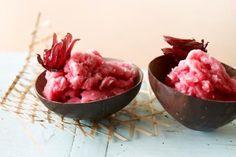 Rose Hip & Hibiscus Sorbet - http://bmag.com.au/food-drink/recipes/rose-hip-hibiscus-sorbet/ Image: Dilmah Aus