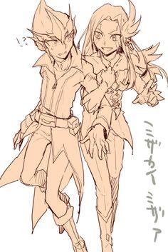 Kite (Kaito) and Mizar (Mizael)