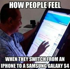 iPhone - Samsung Galaxy S4