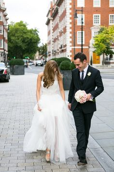 Image by Anneli Marinovich - Elegant Wedding At The Connaught Hotel Mayfair With Bride In Derby By Pronovias With Jimmy Choo Sandals And Groom In Navy Suit By D&G With A Colombian Themed Evening Party At Icetank Covent Garden