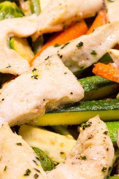Sheet Pan Garlic Chicken & Veggies