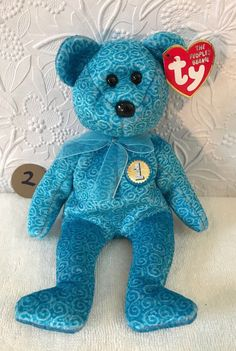 """RETIRED TY Beanie Babies /""""PROPELLER/"""" the Flying Fish MWMTs GREAT GIFT NEW!"""