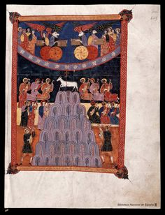 Beato de Liébana. Beato de Liébana , Santo — Manuscrito — 1047  410