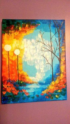 street light wall art by Krafternal on Etsy