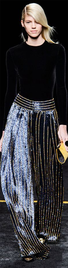"""Balmain Fall 2015. """"And the LORD said to Moses, """"Go to the people and consecrate them today and tomorrow. Have them wash their clothes."""" Exodus 19:10"""