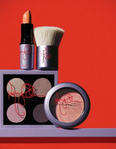 MAC x Sharon & Kelly Osbourne Collections for Summer 2014 – Beauty Trends and Latest Makeup Collections Kelly Osbourne, Sharon Osbourne, Mac Makeup, Love Makeup, Skin Makeup, Makeup Eyeshadow, Makeup Cosmetics, Beauty Makeup, Mac Collection
