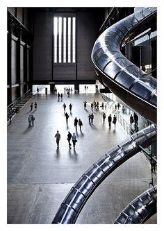 London Attractions - Turbine Hall, Tate Modern, London  http://www.5ivestarlondon.com/
