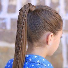 Same-Side Lace Braid   Beautiful Hairstyles   Cute Girls Hairstyles