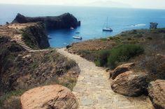 Road to Punta Milazzese- Panarea-Eolisn Islands ( Sicily)