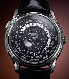 Patek Philippe World Time Moon Reference 5575 Pic from @hodinkee