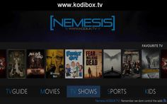 How To Install Nemesis Kodi Kodi Android, Android Box, Xbmc Kodi, Kodi Builds, Raspberry Pi Projects, Best Build, Internet Tv, Rain Shower, Media Center
