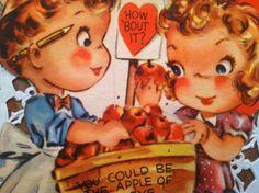 Adorable Vintage Valentine by FrenchCottageMarket...