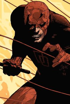 Raised by a boxer, trained by ninjas, graduate of law. Blind and fearless, Matt Murdock the Daredevil  never gives up in his mission to protect the innocent people of New York City.