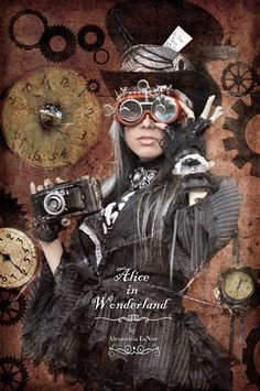 Love the steampunk from photographer Alexandria LaNier #steamPUNK #Fashion - ☮k☮