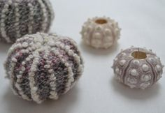 Sea Urchin Shell by Ginx Craft | Knitting Pattern - Looking for a knitting pattern for your next project? Look no further than Sea Urchin Shell from Ginx Craft! - via @Craftsy