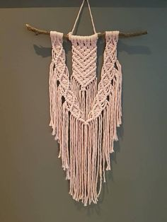 Check out this item in my Etsy shop https://www.etsy.com/au/listing/563980741/macrame-wall-hanging-just-l-o-v-e