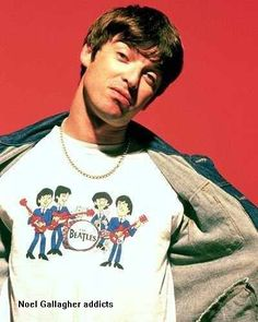 Beatle/Noel G Liam And Noel, All Goes Wrong, Liam Gallagher, Britpop, My Generation, Playing Guitar, Beautiful Boys, Rock Bands, Musica