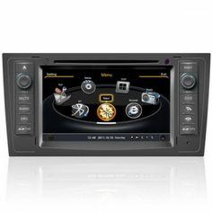 Autoradio Audi A6 - Double Din Autoradio GPS Bluetooth DIVX DVD CD USB SD RDS IPOD 3G TV Pour Audi A6 (1997-2004) Prix spécial : 274,99 €
