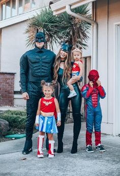 4 Creative Family Halloween Costumes featured by top San Francisco life and style blog, The Girl in the Yellow Dress #halloween #halloweenmakeup #family #costumes #fall #halloweenfun Family Themed Halloween Costumes, Marvel Halloween Costumes, Toddler Halloween Costumes, Halloween Dress, Diy Halloween, Disney Family Costumes, Family Super Hero Costumes, Superhero Family Costumes, Zombie Costumes
