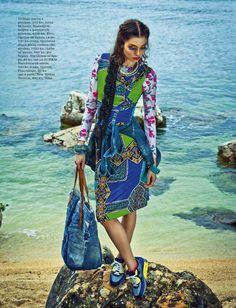 Ana Maria Cajner Elle Magazine 9